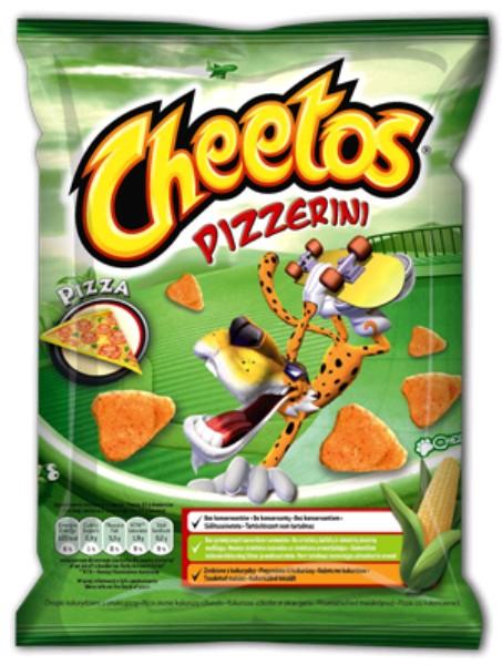 Snack Cheetos nagyker  50 g pizzás - sós rágcsálnivaló, snack, édesség nagykereskedés Budapest
