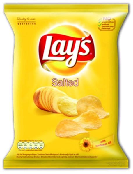 Lay's chips nagyker 77 g sós - édesség és sós rágcsálnivalók nagyker