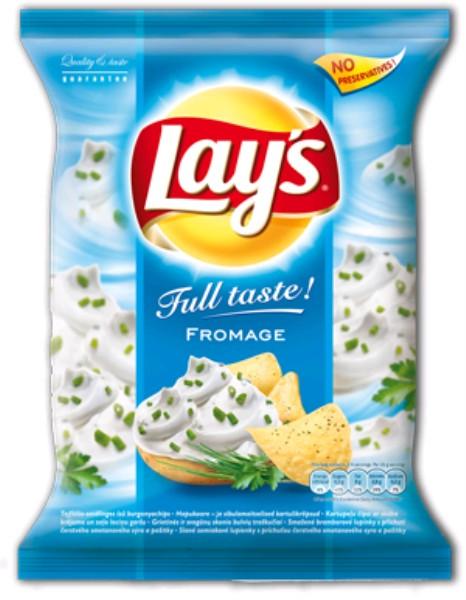Lay's chips nagyker 77 g  tejfölös-snidlinges - édesség és sós rágcsálnivalók nagyker