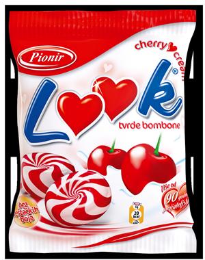 Pionir Look kemeny cukorka nagyker ár-cseresznyés-tejszínes-édesség nagykereskedés